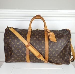 Louis Vuitton Keepall Bandouliere 50 Duffel
